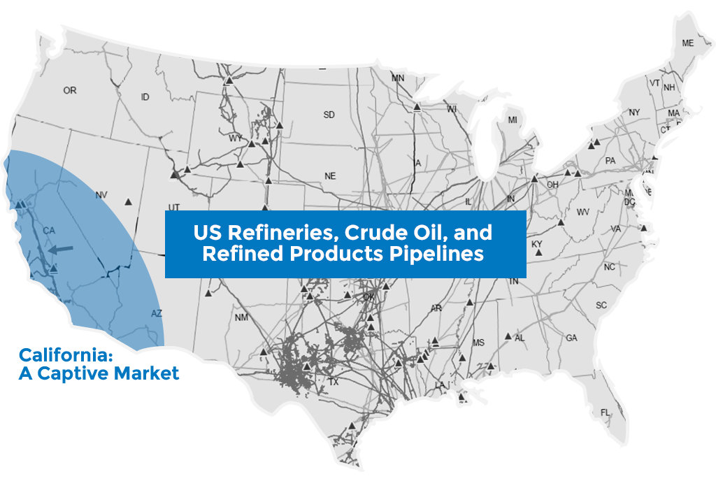 US Refineries and Pipelines